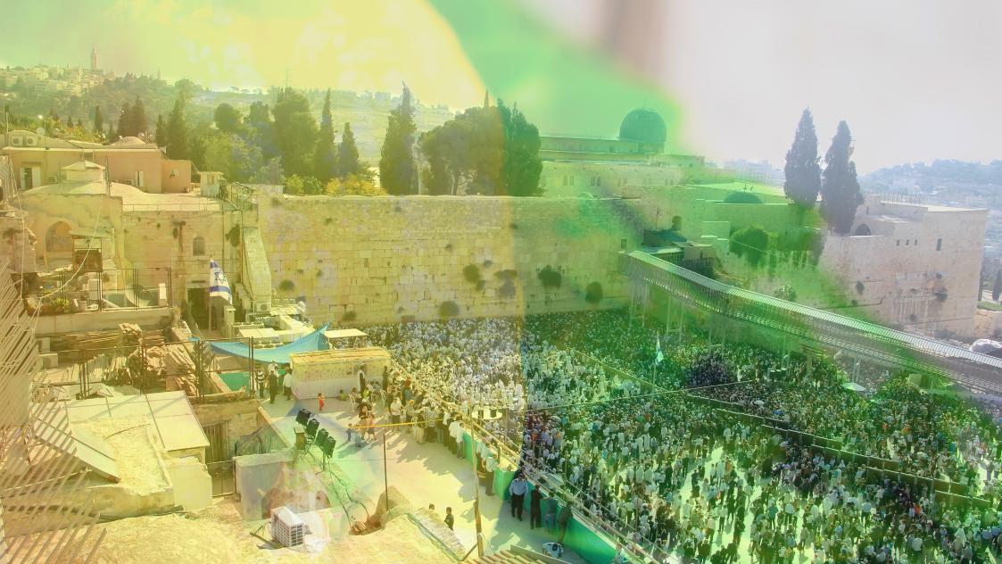 נטילת לולב במקדש ובמדינה